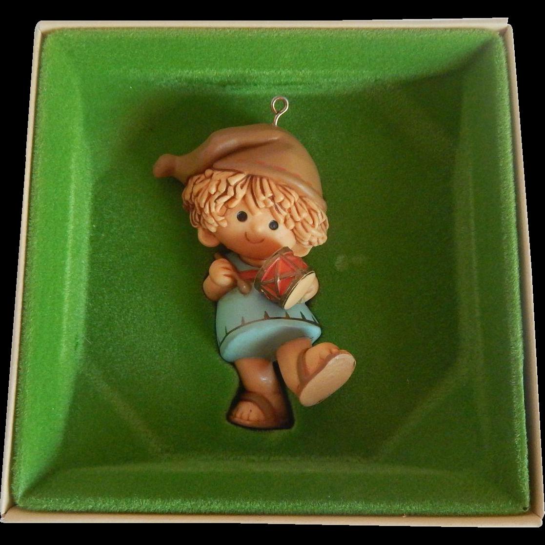 Hallmark 1980 Drummer Boy Christmas Ornament
