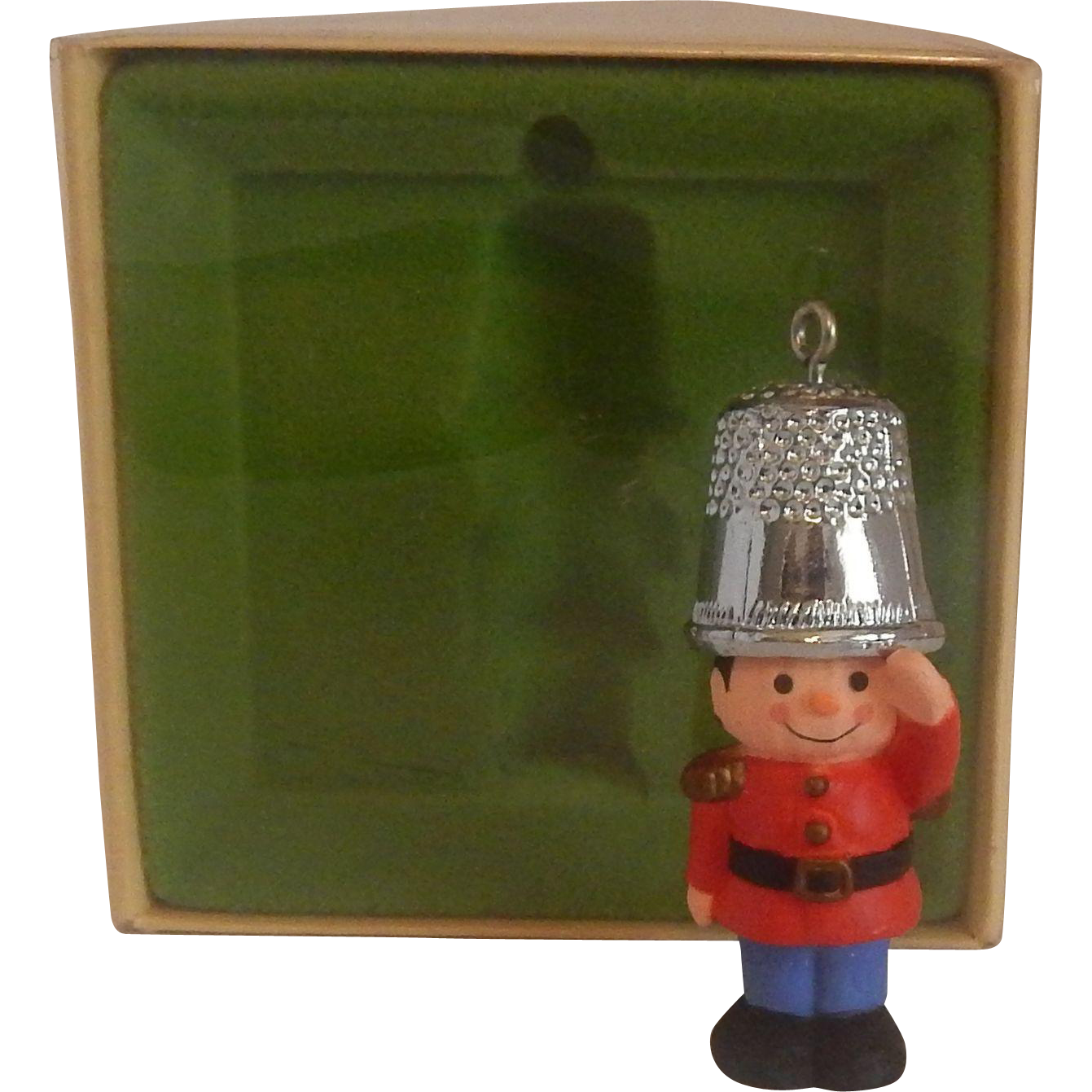Hallmark Thimble A Christmas Salute 1979 Ornament