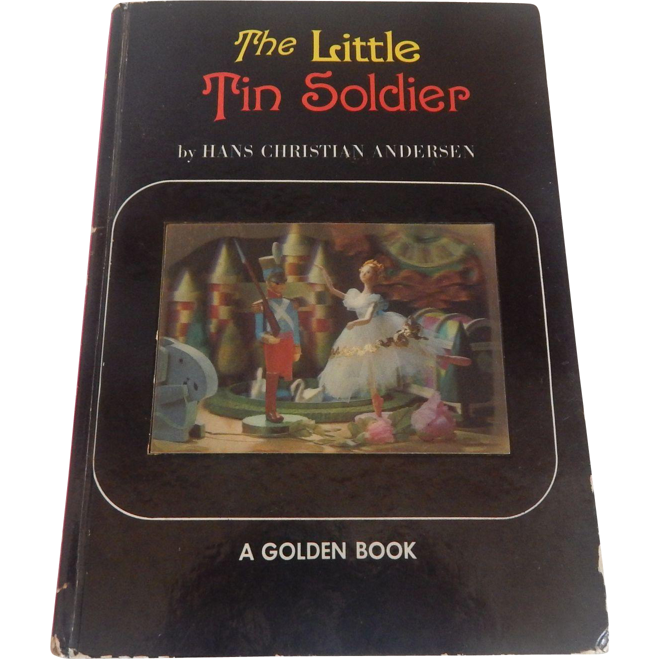 The Little Tin Soldier Holographic Golden Book