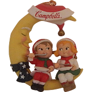 Cambells Soup Kids Man In The Moon Ornament