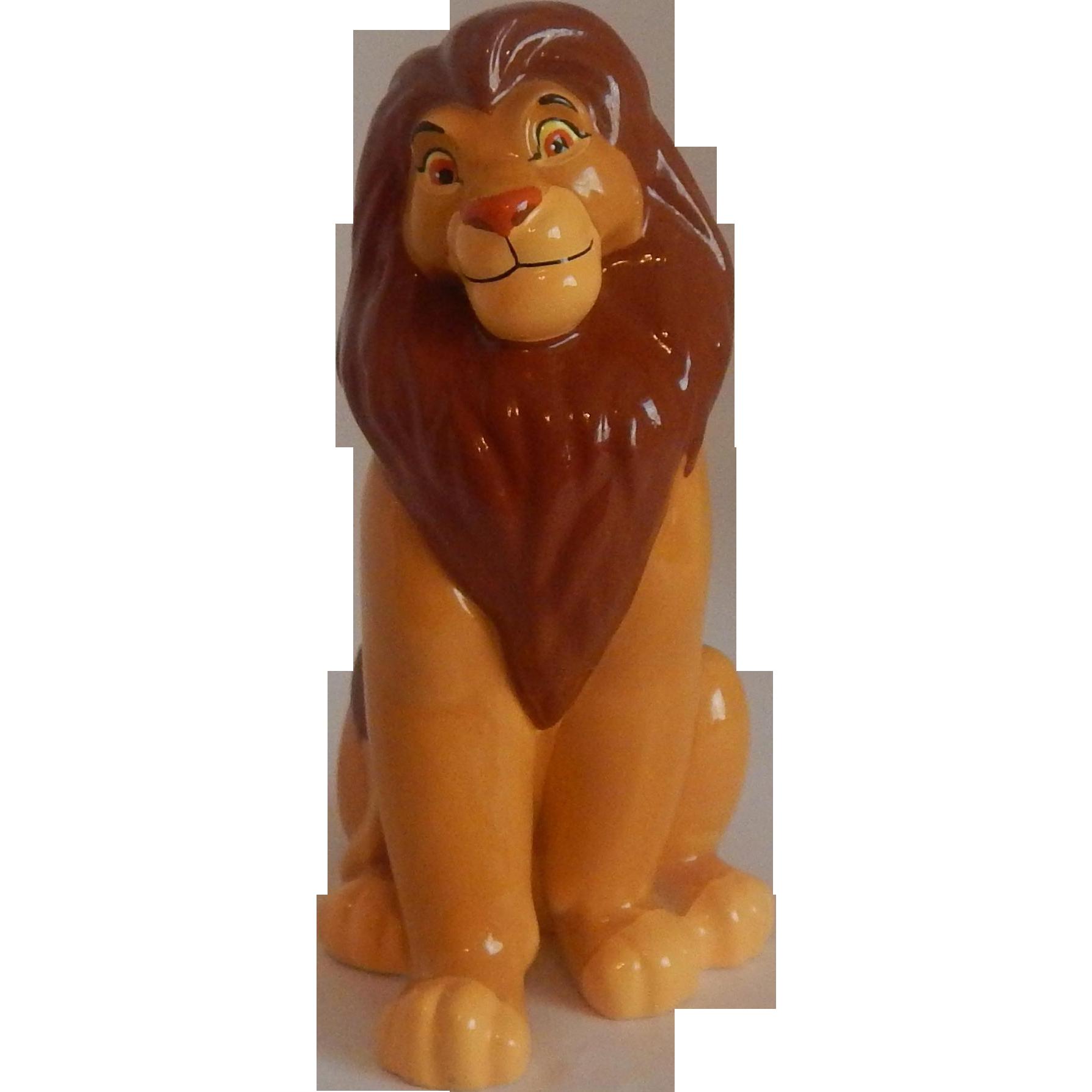 Disney Lion King Simba Figurine