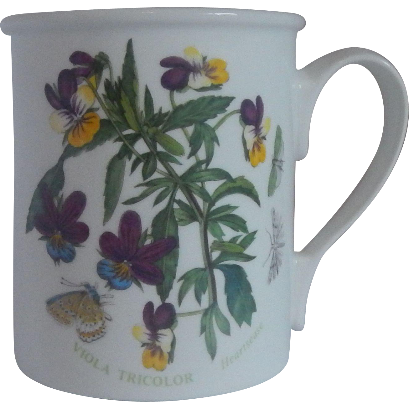 Portmeirion Botanic Garden Viola Tricolor Mug