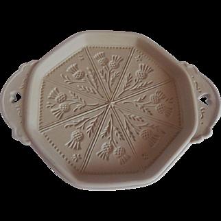 Brown Bag Art Scottish Thistle Shortbread Pan
