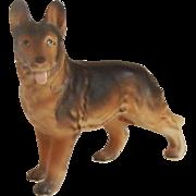 German Shepherd Dog Figurine Japan
