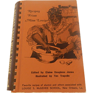 Recipes From Miss Louise  New Orleans, La