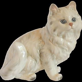 Andrea by Sadek Porcelain Persian Cat Figurine