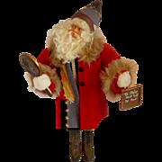 Dee Gann Handcrafted Santa Claus