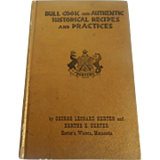 Bull Cook  Cookbook  by George Herter