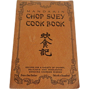 Mandarin Chop Suey Cookbook 1928