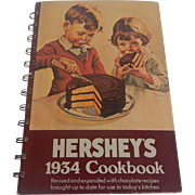 Hershey's 1934  CookBook  reprint edition