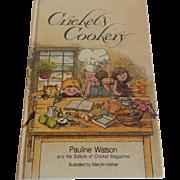 Crickets Cookery By Pauline Watson     Children Cookbook