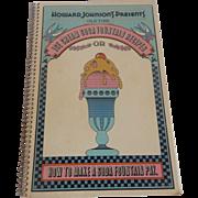 Howard Johnson's Presents Ice Cream Soda Fountain  Recipes