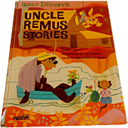 Walt Disney's Uncle Remus Stories Book