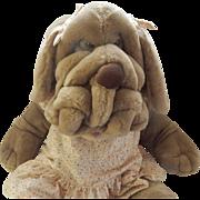 """Ganz Bros.  28"""" Wrinkles Hound Dog Puppet"""