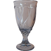 Noritake Light Blue Sweet Swirl Ice Tea Goblet