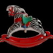 Hallmark Keepsake Christmas Ornament Zebra Fantasy