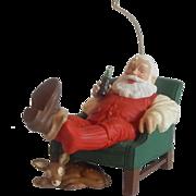 Hallmark Keepsake Ornament Coca Cola Santa