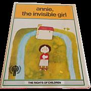 Annie, The Invisible Girl J. L. Garcia Sanchez