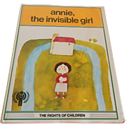 Annie, The Invisible Girl J. L. Garcia Sanchez