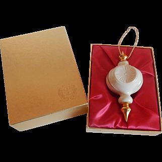 1984 lenox China Christmas Ornament