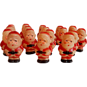 Sixteen Santa Claus Christmas Tree Light Covers