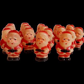 Sixteen Santa Claus Christmas Tree Light Covers