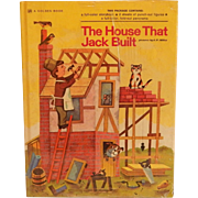 Golden Book The House That Jack Built   Sealed
