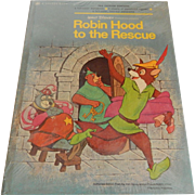 Golden Book Robin Hood To The Rescue   Sealed