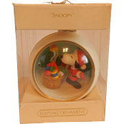 Hallmark Keepsake Snoopy and Friends 1983 Ornament