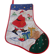 House Of Hatten Santa Christmas Stocking
