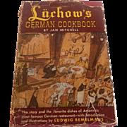 Luchow's German Cookbook Jan Mitchell