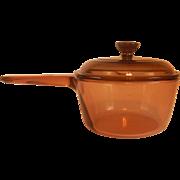 Corning Amber Vision Sauce Pan 1 Liter