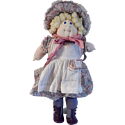 Cabbage Patch Kids 1986 Mark Twain Becky Thatcher Doll