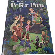 Walt Disney's Peter Pan A Big Golden Book