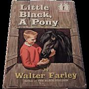 Little Black A Pony by Walter Farley