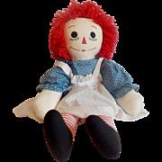 Hand made Raggedy Ann Doll