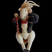 Midwest Cannon Falls Circus Ringmaster Horse Heart Felt Ornament