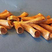 Mid-Century Trifari Gold Toned Twig Bracelet