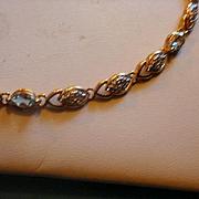 Sterling Vermeil Topaz Bracelet