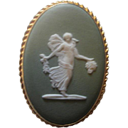 1970's Wedgwood Gold Filled Pendant