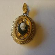 Victorian Era Gold Filled Locket