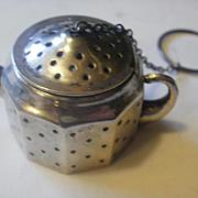 Amcraft Sterling Tea Pot Tea Ball
