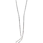 "Gorgeous Slinky 52"" Sterling Italy Chain"