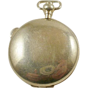 Large Vintage 800 Silver Locket