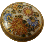 Vintage Satsuma Button