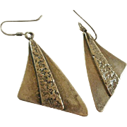 Vintage Silpada Sterling Studio Made Earrings