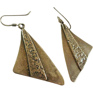 Vintage Silpada Sterling Studio Made Earrings