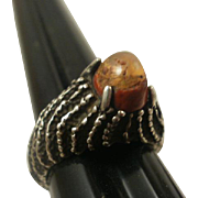 Studio Made Fire Opal Sterling Ring-6