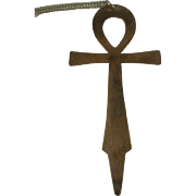 "International Silver 5"" Sterling Ankh Bookmark Pendant"