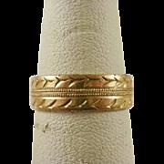 12k Gold Filled Cigar Band ~6